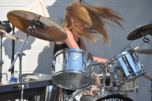 great girl drum 1